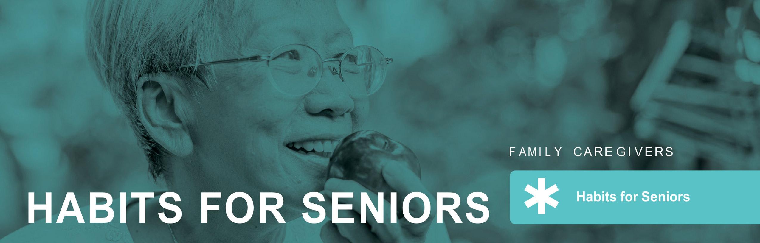 habits for seniors
