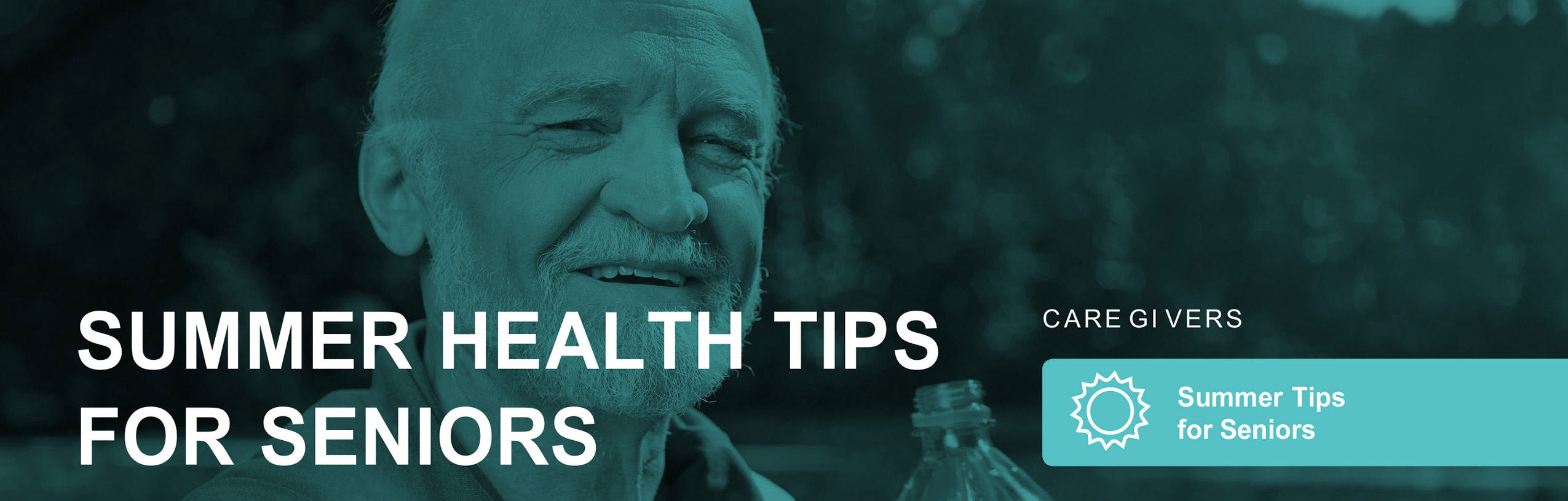 Helpful Home Care info about summer health tips for seniors