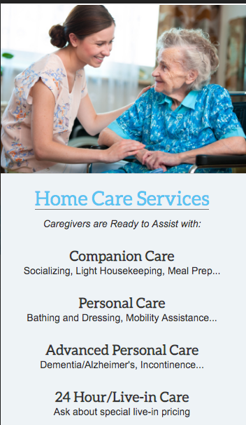 Home Care On Your Terms!