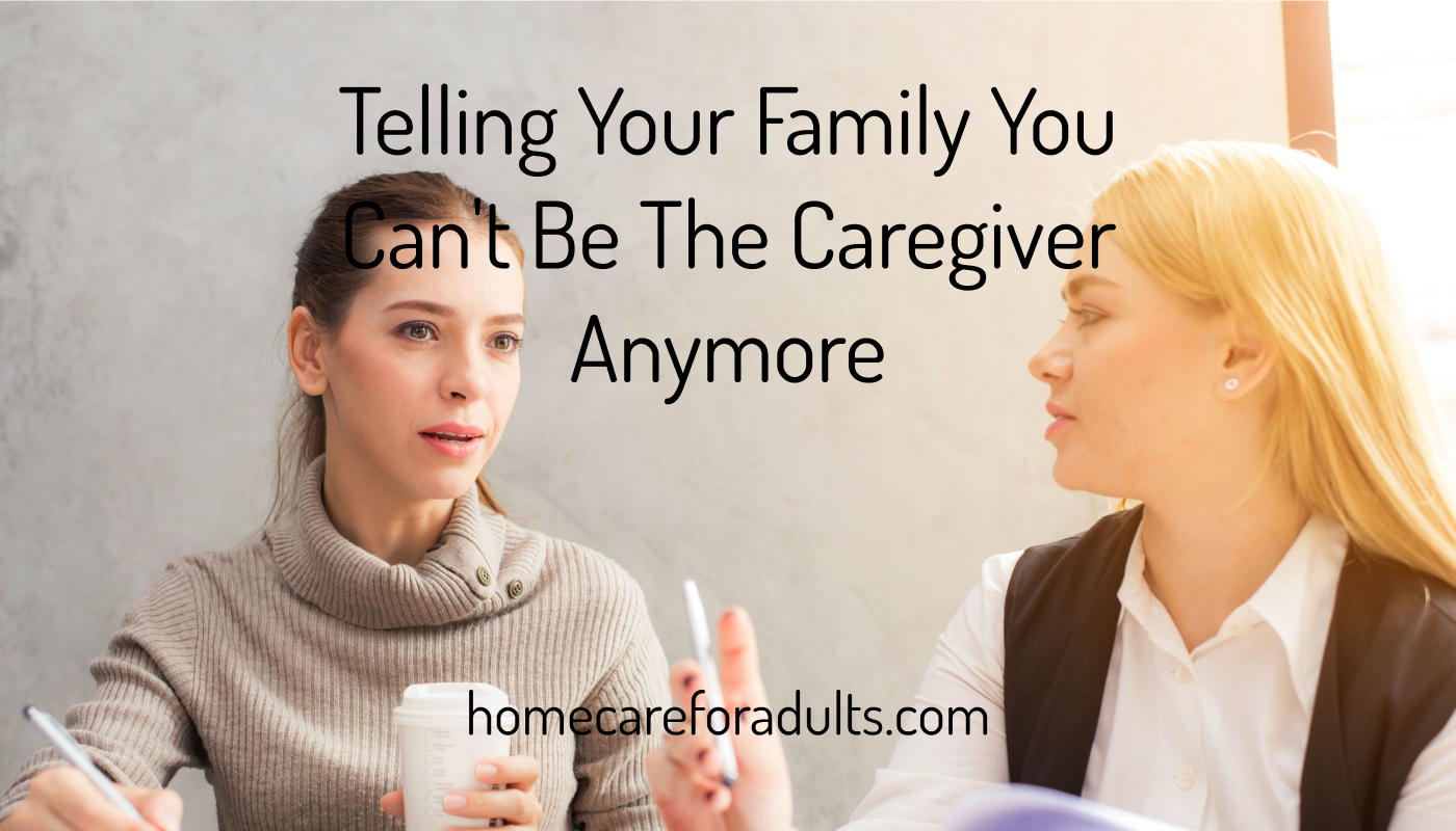 Caregiving for a loved one